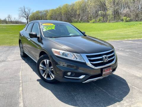 2014 Honda Crosstour for sale at A & S Auto and Truck Sales in Platte City MO