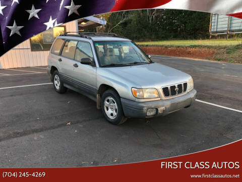 2002 Subaru Forester for sale at First Class Autos in Maiden NC