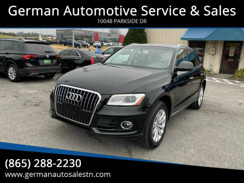 2016 Audi Q5 for sale at German Automotive Service & Sales in Knoxville TN