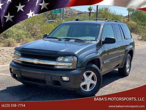 2003 Chevrolet TrailBlazer for sale at Baba's Motorsports, LLC in Phoenix AZ