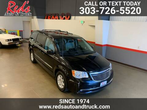 2013 Chrysler Town and Country for sale at Red's Auto and Truck in Longmont CO