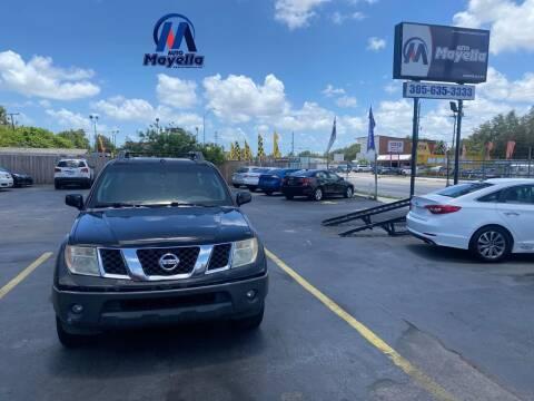 2006 Nissan Frontier for sale at Auto Mayella in Miami FL