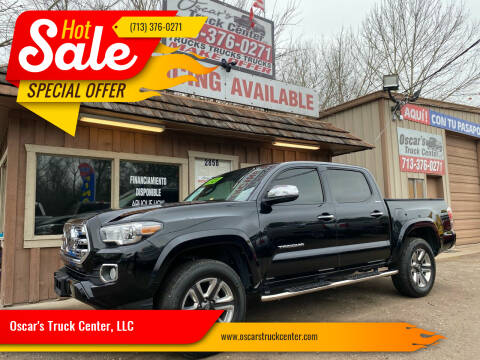 2018 Toyota Tacoma for sale at Oscar's Truck Center, LLC in Houston TX