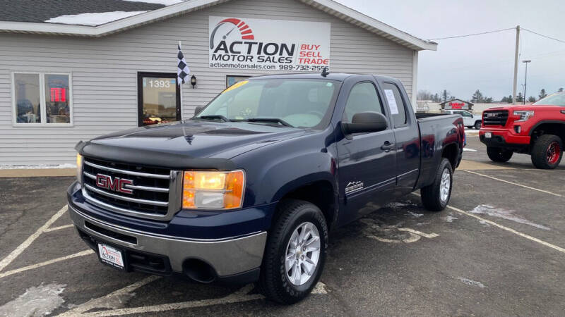 2011 GMC Sierra 1500 for sale at Action Motor Sales in Gaylord MI