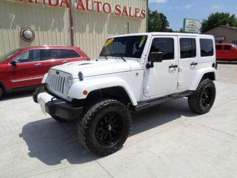 2013 Jeep Wrangler Unlimited for sale at De Anda Auto Sales in Storm Lake IA