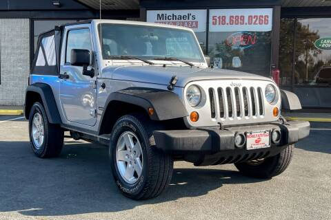 2012 Jeep Wrangler for sale at Michael's Auto Plaza Latham in Latham NY