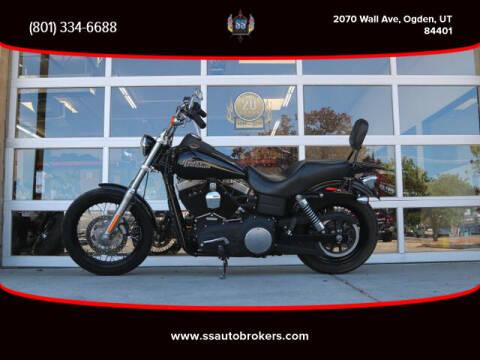 2012 Harley-Davidson FXDB Street Bob for sale at S S Auto Brokers in Ogden UT