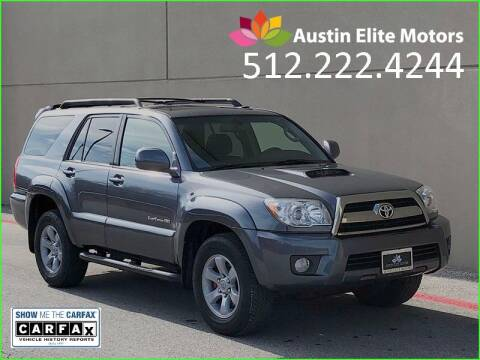 2009 Toyota 4Runner for sale at Austin Elite Motors in Austin TX