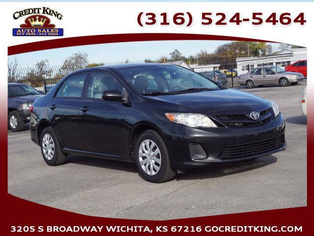 2011 Toyota Corolla for sale at Credit King Auto Sales in Wichita KS