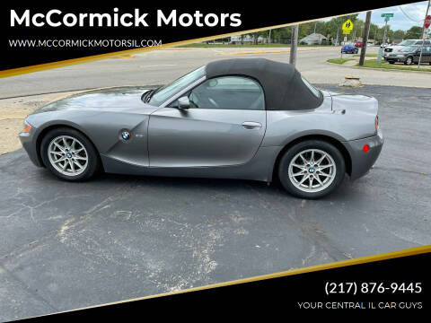 2004 BMW Z4 for sale at McCormick Motors in Decatur IL