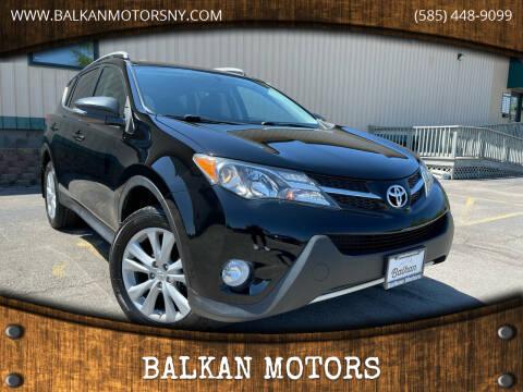 2013 Toyota RAV4 for sale at BALKAN MOTORS in East Rochester NY