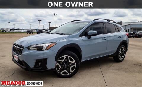 2019 Subaru Crosstrek for sale at Meador Dodge Chrysler Jeep RAM in Fort Worth TX