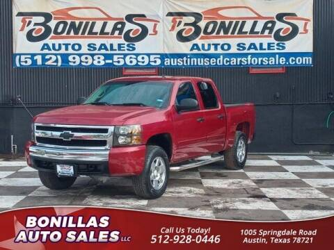 2007 Chevrolet Silverado 1500 for sale at Bonillas Auto Sales in Austin TX