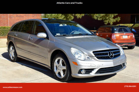 2009 Mercedes-Benz R-Class for sale at Atlanta Cars and Trucks in Kennesaw GA