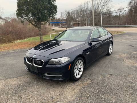 2014 BMW 5 Series for sale at Lux Car Sales in South Easton MA