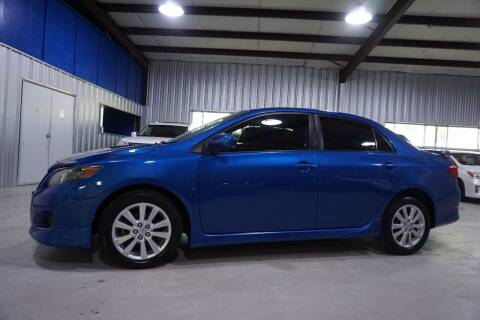 2010 Toyota Corolla for sale at SOUTHWEST AUTO CENTER INC in Houston TX