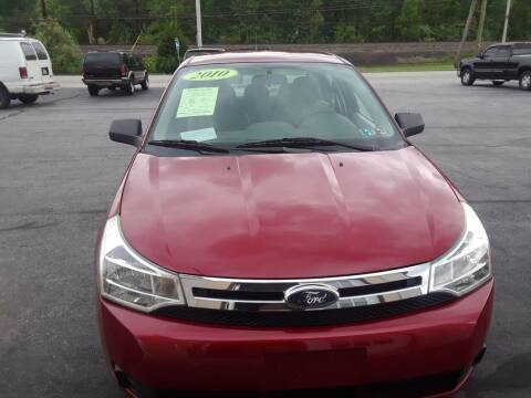 2010 Ford Focus for sale at Dun Rite Car Sales in Downingtown PA