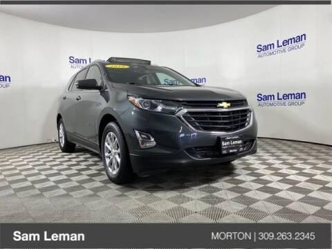 2018 Chevrolet Equinox for sale at Sam Leman CDJRF Morton in Morton IL