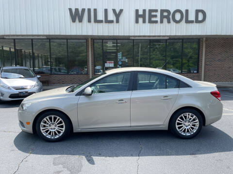 2013 Chevrolet Cruze for sale at Willy Herold Automotive in Columbus GA