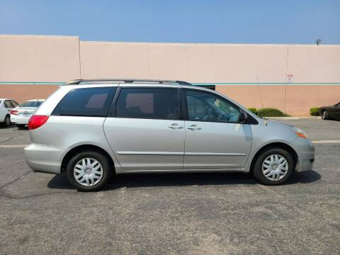 2008 Toyota Sienna for sale at E and M Auto Sales in Bloomington CA