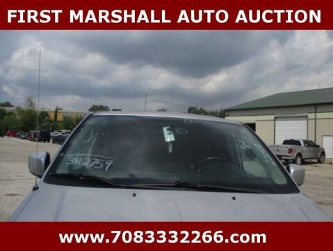 2012 Chrysler Town and Country for sale at First Marshall Auto Auction in Harvey IL