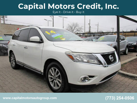 2014 Nissan Pathfinder for sale at Capital Motors Credit, Inc. in Chicago IL
