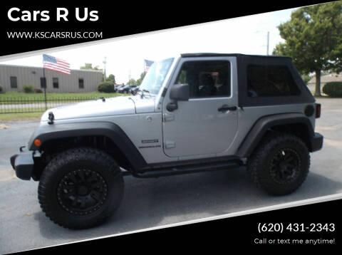2013 Jeep Wrangler for sale at Cars R Us in Chanute KS