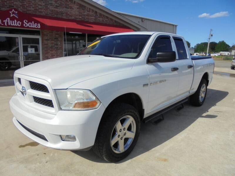 2012 RAM Ram Pickup 1500 for sale at US PAWN AND LOAN in Austin AR
