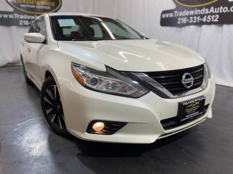 2018 Nissan Altima for sale at TRADEWINDS MOTOR CENTER LLC in Cleveland OH