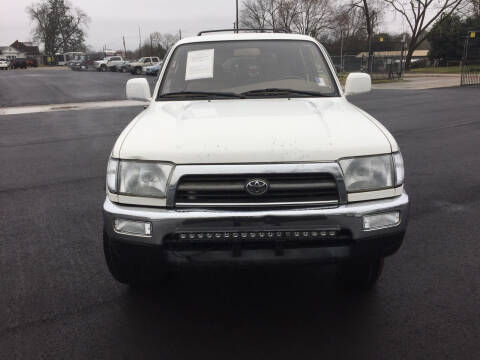 1998 Toyota 4Runner for sale at Beckham's Used Cars in Milledgeville GA