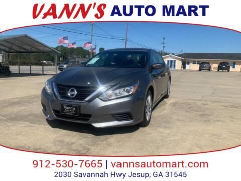 2016 Nissan Altima for sale at VANN'S AUTO MART in Jesup GA