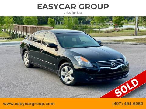 2007 Nissan Altima for sale at EASYCAR GROUP in Orlando FL