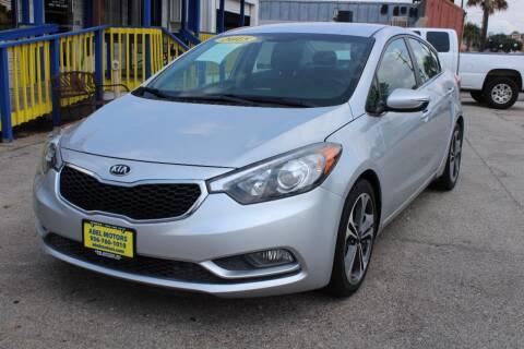 2015 Kia Forte for sale at Abel Motors, Inc. in Conroe TX