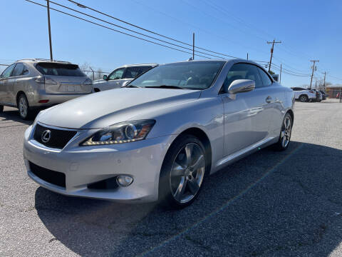 2011 Lexus IS 250C for sale at Signal Imports INC in Spartanburg SC