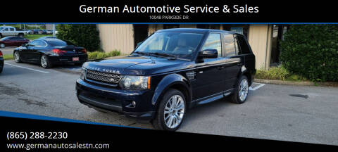 2012 Land Rover Range Rover Sport for sale at German Automotive Service & Sales in Knoxville TN