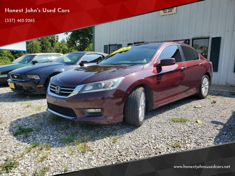 2015 Honda Accord for sale at Honest John's Used Cars in Deridder LA
