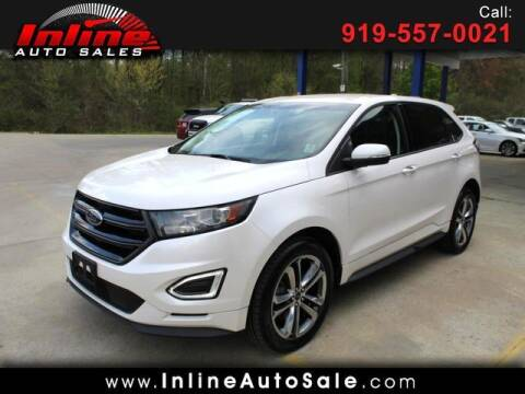 2016 Ford Edge for sale at Inline Auto Sales in Fuquay Varina NC