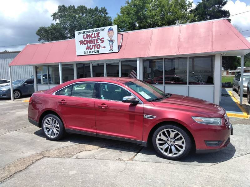 2013 Ford Taurus for sale at Uncle Ronnie's Auto LLC in Houma LA