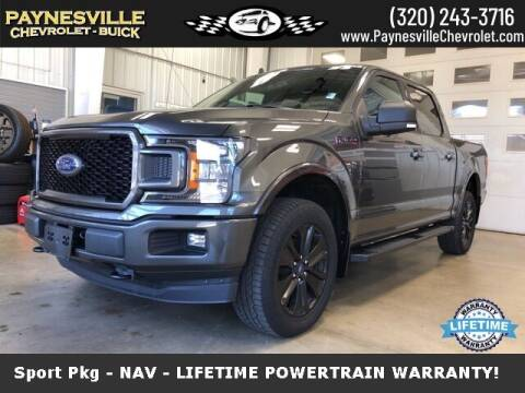 2019 Ford F-150 for sale at Paynesville Chevrolet Buick in Paynesville MN