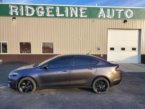 2014 Dodge Dart for sale at RIDGELINE AUTO in Chubbuck ID