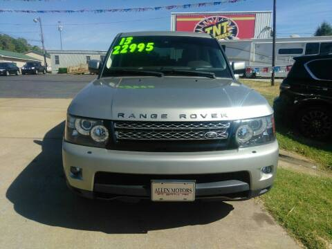 2013 Land Rover Range Rover Sport for sale at AUTOPLEX 528 LLC in Huntsville AL