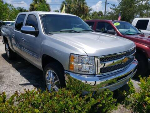 2012 Chevrolet Silverado 1500 for sale at Mike Auto Sales in West Palm Beach FL