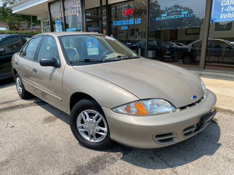 2002 Chevrolet Cavalier for sale at ECAUTOCLUB LLC in Kent OH