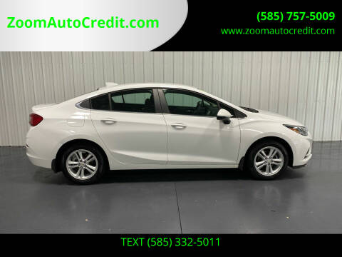 2018 Chevrolet Cruze for sale at ZoomAutoCredit.com in Elba NY