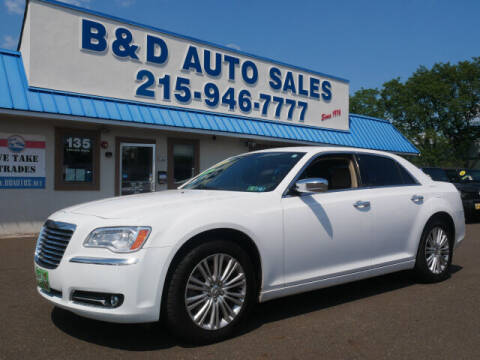 2014 Chrysler 300 for sale at B & D Auto Sales Inc. in Fairless Hills PA
