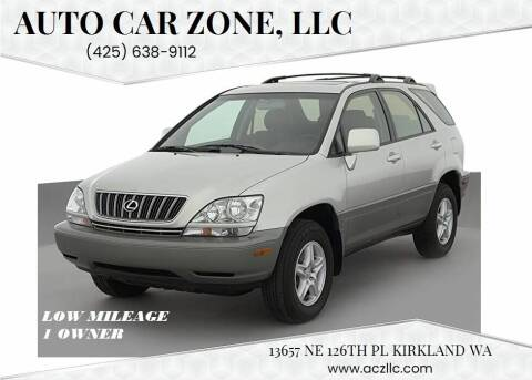 1999 Lexus RX 300 for sale at Auto Car Zone, LLC in Kirkland WA