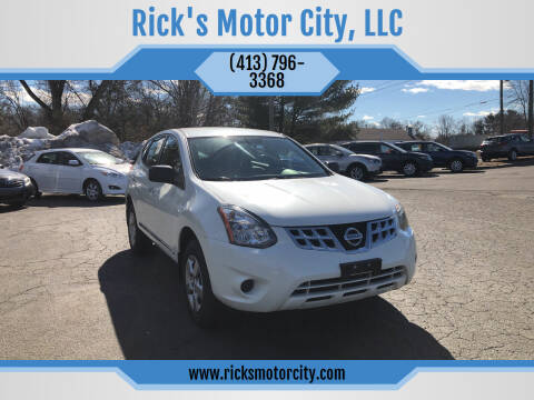2014 Nissan Rogue Select for sale at Rick's Motor City, LLC in Springfield MA