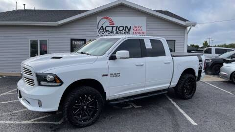 2017 RAM Ram Pickup 1500 for sale at Action Motor Sales in Gaylord MI