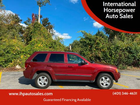 2007 Jeep Grand Cherokee for sale at International Horsepower Auto Sales in Warwick RI