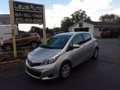 2012 Toyota Yaris for sale at LEWIS AUTO in Mountain Home AR